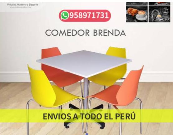 Comedores en ARKIMUEBLES, modelo Brenda (negocio)