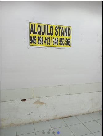 Alquiler de Stands en Gamarra