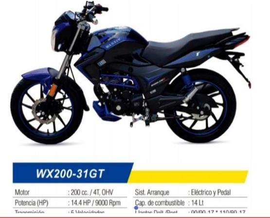 venta de motos, bicicletas, empresa Ramírez