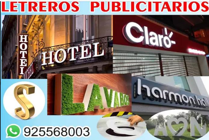 Letreros Publicitario - Cajas Luminosas -Letras 3D