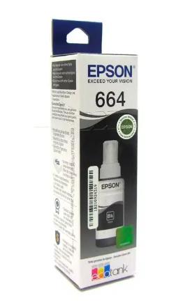 Botella De Tinta Epson 664, Para Serie L De Epson
