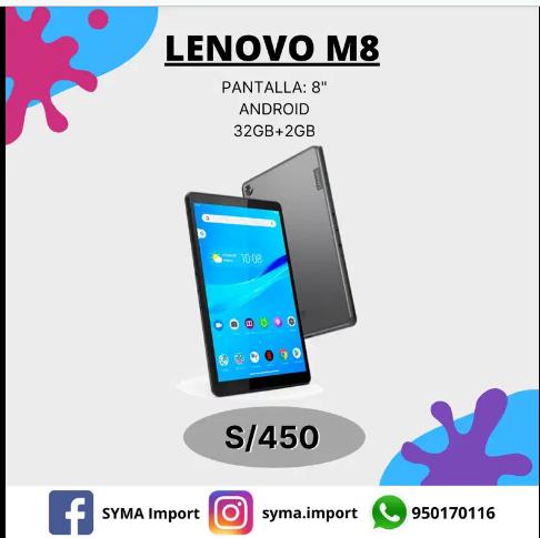 TABLET LENOVO M8 32GB 2GB