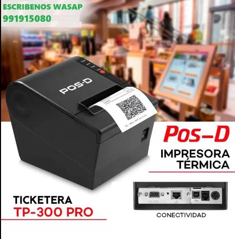 IMPRESORA POS D TP 300 PRO