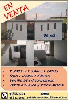 2 Cuartos, 98 m² – VIVIENDA EN VENTA LAS DALMACIAS, PUENTE PIEDRA