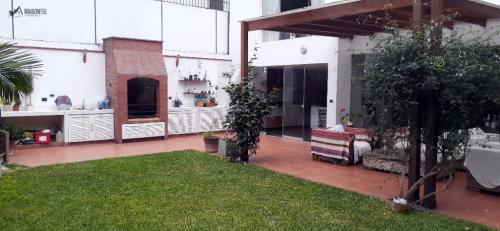 4 Cuartos, 485 m² – Casa en Venta 485 M2 3 Pisos Parque Privado San Isidro ( 725-g-q