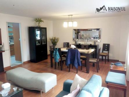 3 Cuartos, 145 m² – Departamento Vendo 145 M2 3 Dorm. Miraflores (Ref 711)