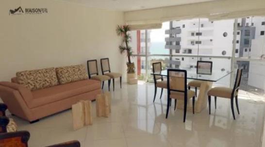 2 Cuartos, 110 m² – Elegante Dpto. V. Mar Amoblado Miraflores (Ref 372.)-M