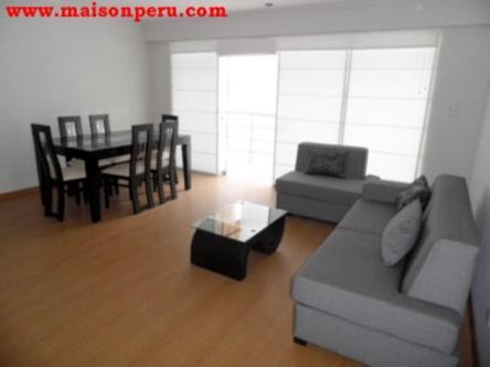 3 Cuartos, 106 m² – Departamento Alquiler 3 Dormitorios S/Muebles Miraflores