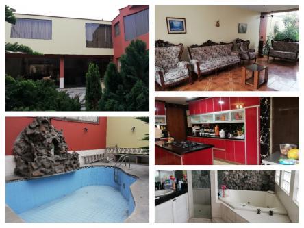 6 Cuartos, 336 m² – Se Vende Amplia Casa en Corpac - San Isidro, en zona residencial