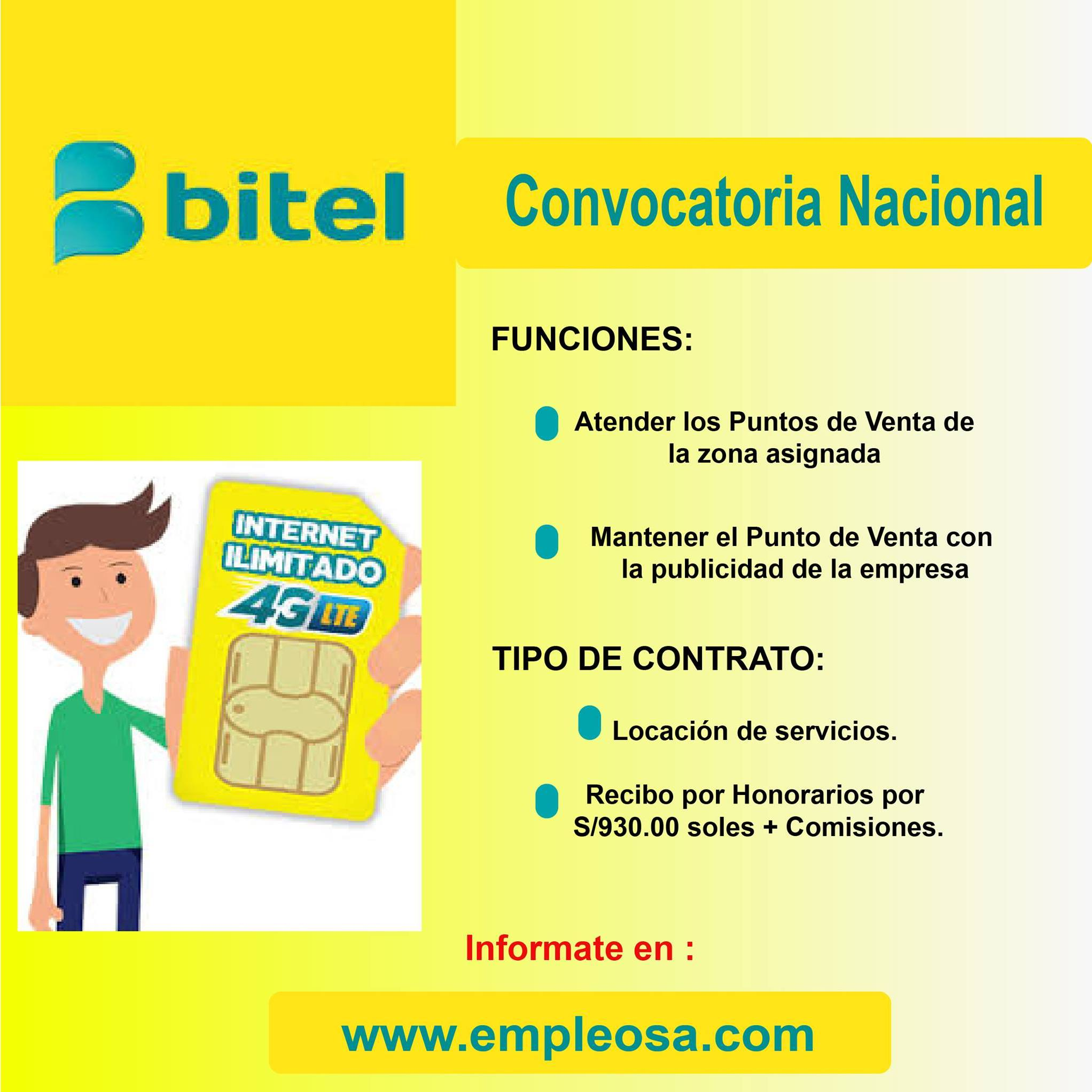 Asesor Comercial para Ventanilla ¡Inicia Ya!